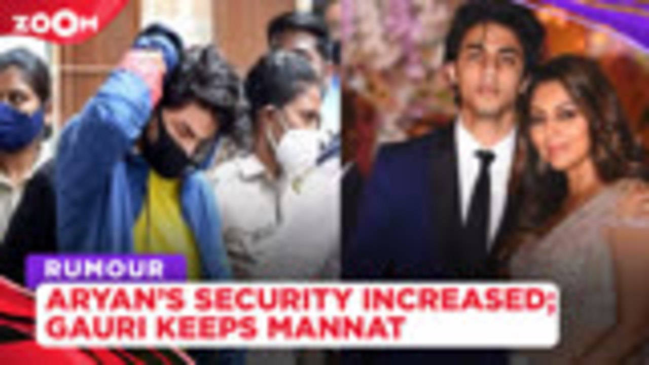 Aryan Khan's security beefed up in jail, Gauri QUITS sweets & keeps Mannat for her son's bail